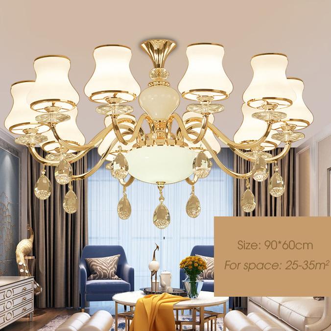Đèn chùm phong cách Châu Âu sang trọng đầy ấn tượng LA826 -2 - 10