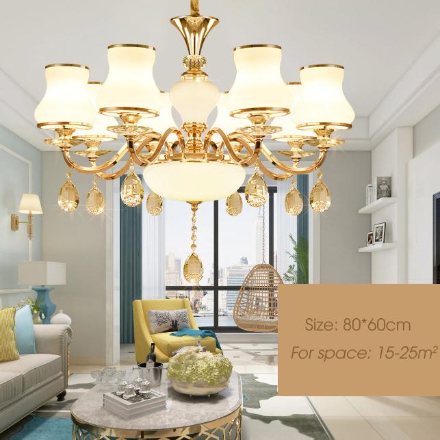 Đèn chùm phong cách Châu Âu sang trọng đầy ấn tượng LA826 -2 - 8