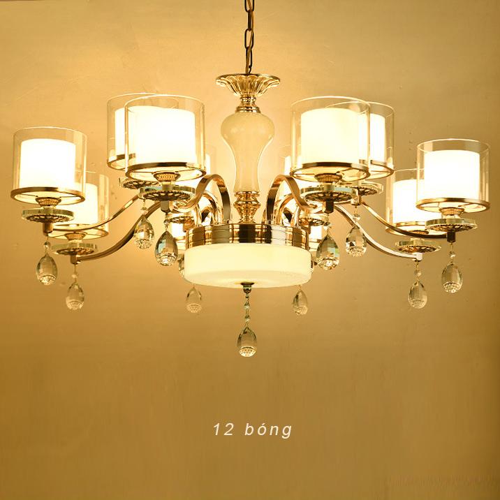 Đèn chùm phong cách Châu Âu sang trọng đầy ấn tượng LA828 -2 - 8+4