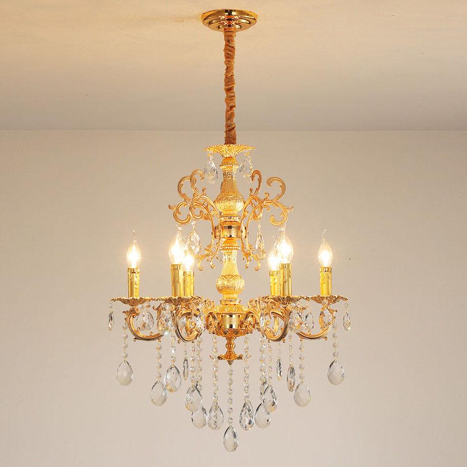 Đèn chùm pha lê phong cách Châu Âu sang trọng đầy ấn tượng   LA 836 -3- 6