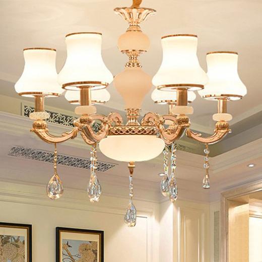 Đèn chùm phong cách Châu Âu thiết kế sang trọng hiện đại đầy ấn tượng LA816 -1- 6