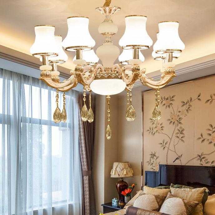 Đèn chùm phong cách Châu Âu thiết kế sang trọng hiện đại đầy ấn tượng LA816 -1- 8