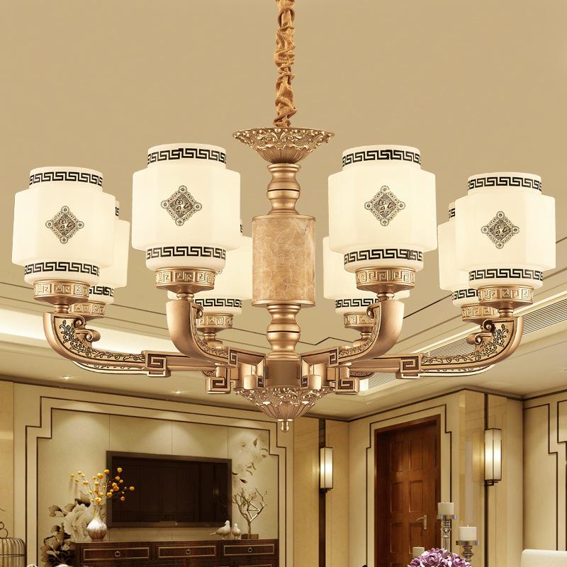 Đèn chùm pha lê phong cách Châu Âu thiết kế tân cổ điển sang trọng đầy ấn tượng LA813 -1- 8