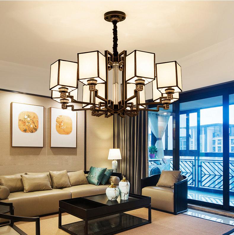 Đèn chùm phòng khách thiết kế hiện đại đầy ấn tượng LA821 -2 - 8