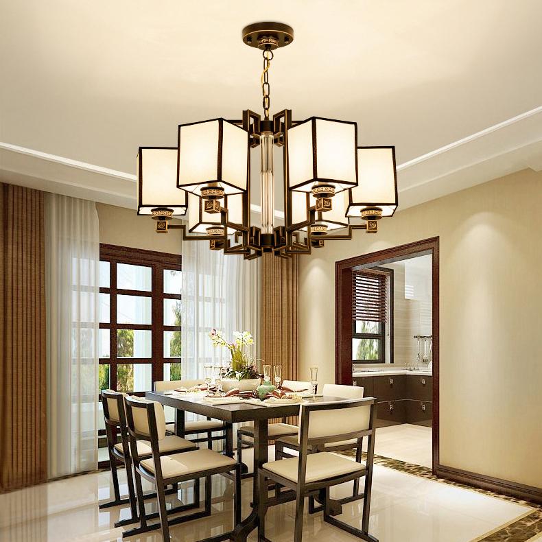 Đèn chùm phòng khách thiết kế hiện đại đầy ấn tượng LA821 -2 - 6