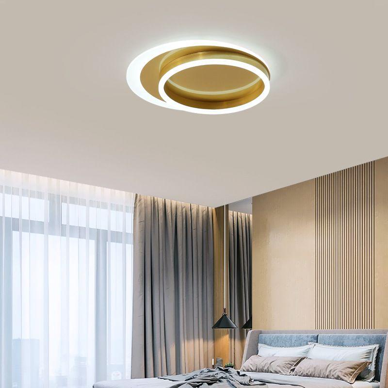 Đèn ốp trần phòng khách cho không gian thêm sang trọng và hiện đại 6699 size 42cm