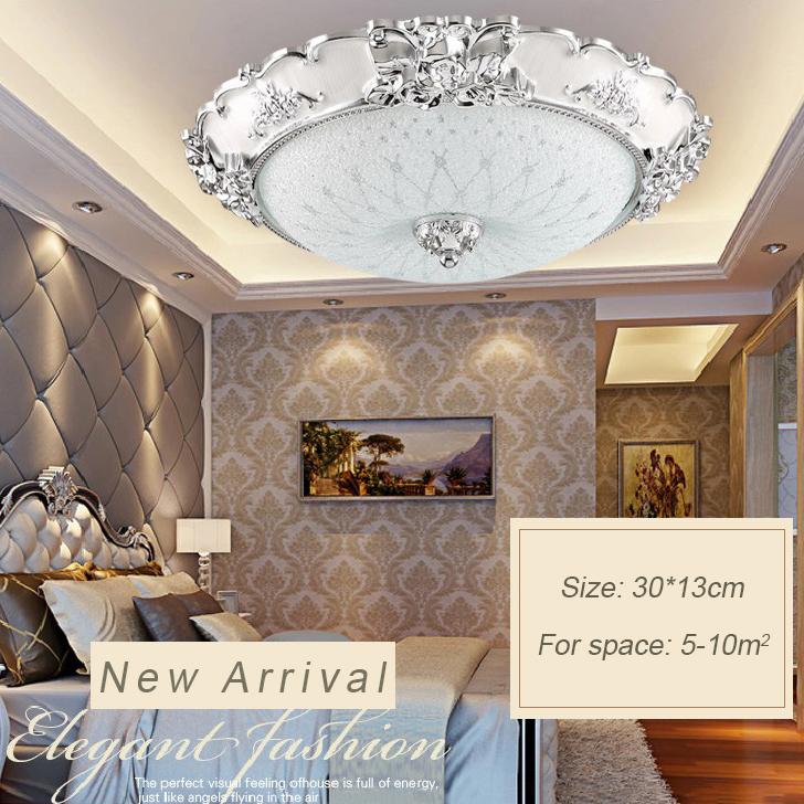Đèn ốp trần phòng khách sang trọng cho không gian đầy ấn tượng  LA8110-1-ÔT size 30