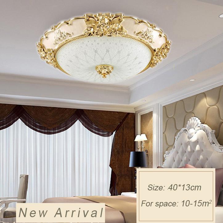 Đèn ốp trần phòng khách sang trọng cho không gian đầy ấn tượng  LA8110-1-ÔT