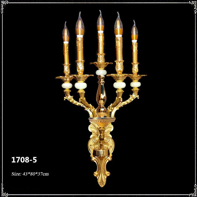 Đèn ốp tường pha lê phong cách Châu Âu sang trọng đầy ấn tượng 1802-5