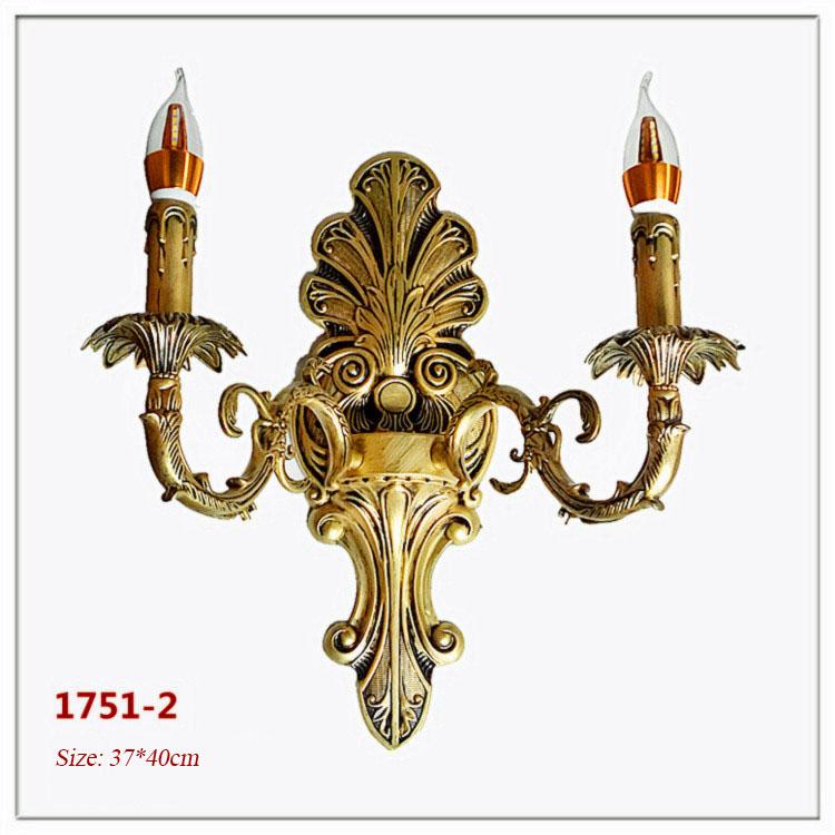 Đèn ốp tường pha lê phong cách Châu Âu sang trọng đầy ấn tượng 1751-2