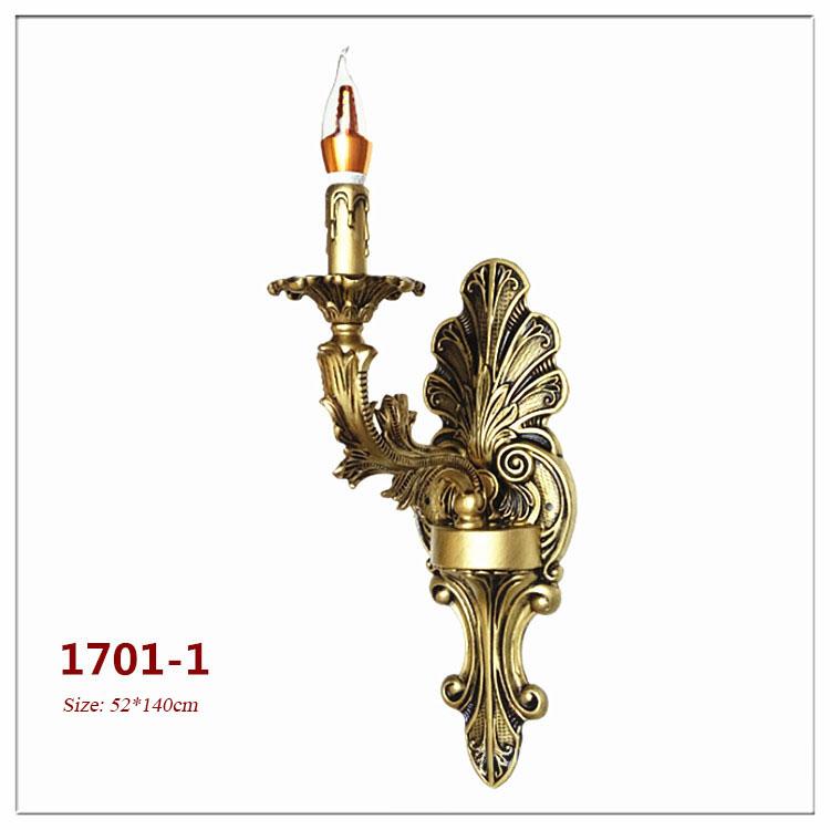 Đèn ốp tường pha lê phong cách Châu Âu sang trọng đầy ấn tượng 1701-1