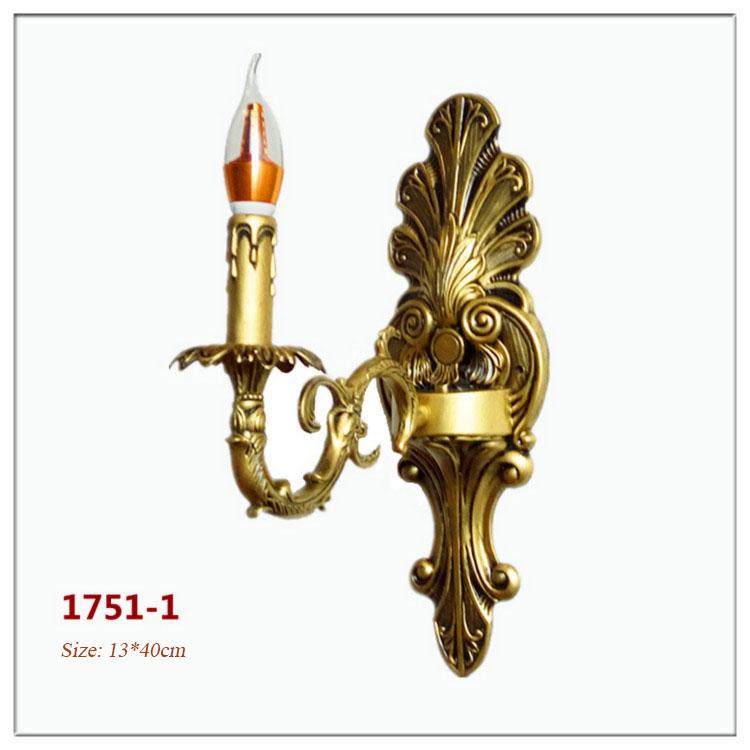 Đèn ốp tường pha lê phong cách Châu Âu sang trọng đầy ấn tượng 1751-1
