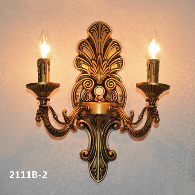 Đèn ốp tường pha lê phong cách Châu Âu sang trọng đầy ấn tượng 2111B-2