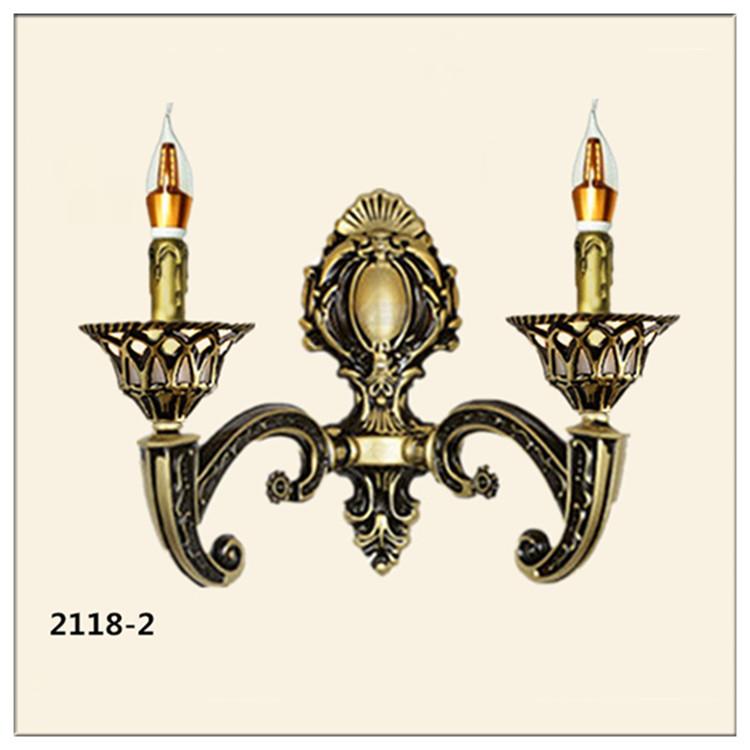 Đèn ốp tường pha lê phong cách Châu Âu sang trọng đầy ấn tượng 2118-2
