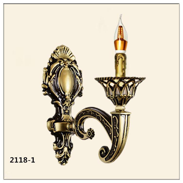 Đèn ốp tường pha lê phong cách Châu Âu sang trọng đầy ấn tượng 2118-1
