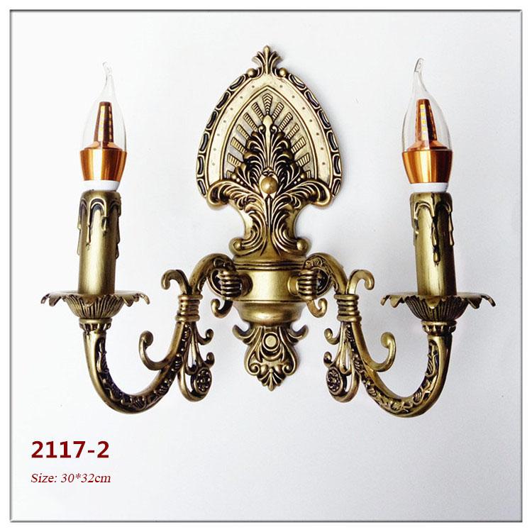 Đèn ốp tường pha lê phong cách Châu Âu sang trọng đầy ấn tượng 2117-2