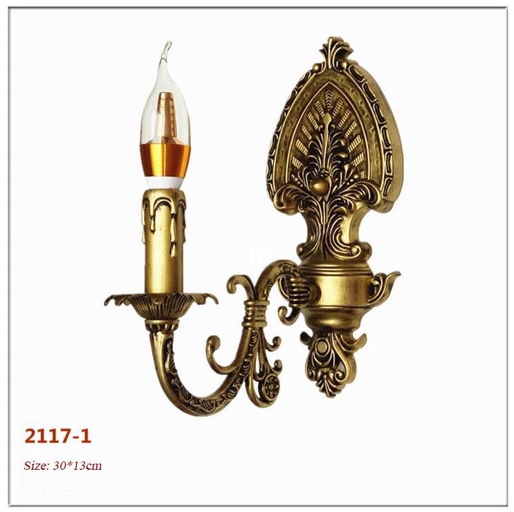 Đèn ốp tường pha lê phong cách Châu Âu sang trọng đầy ấn tượng 2117-1