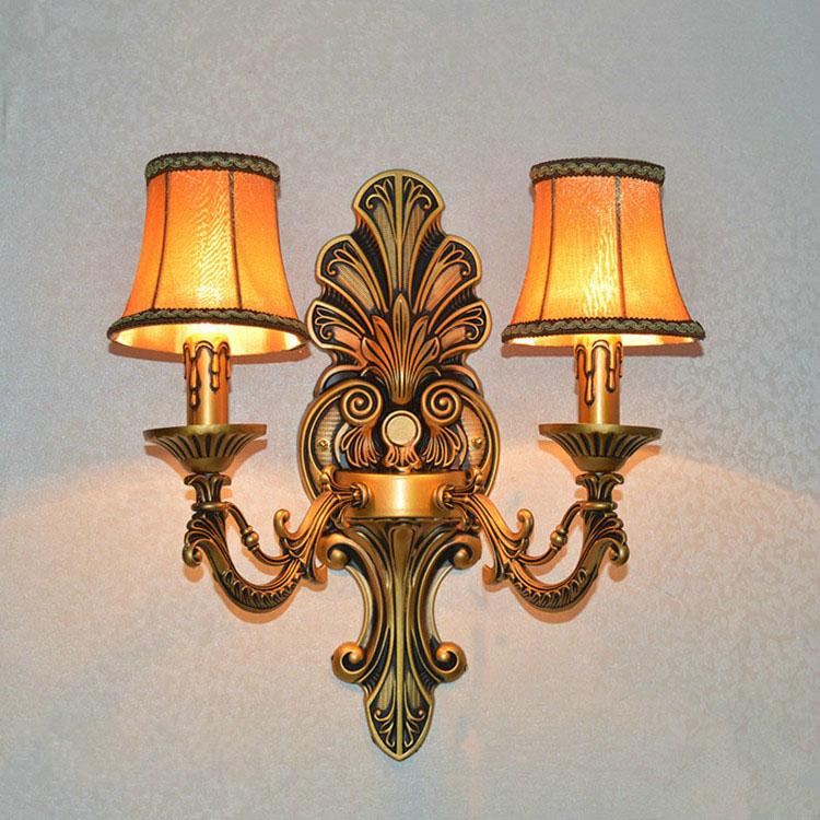 Đèn ốp tường pha lê phong cách Châu Âu sang trọng đầy ấn tượng 2111-2