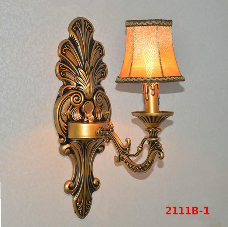 Đèn ốp tường pha lê phong cách Châu Âu sang trọng đầy ấn tượng 2111B-1