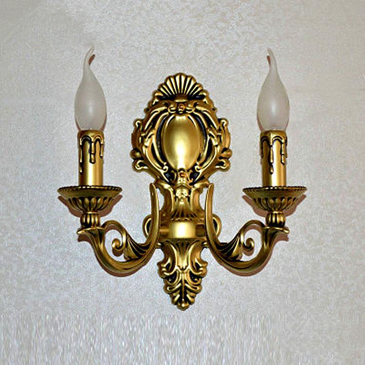 Đèn ốp tường pha lê phong cách Châu Âu sang trọng đầy ấn tượng 2112-2