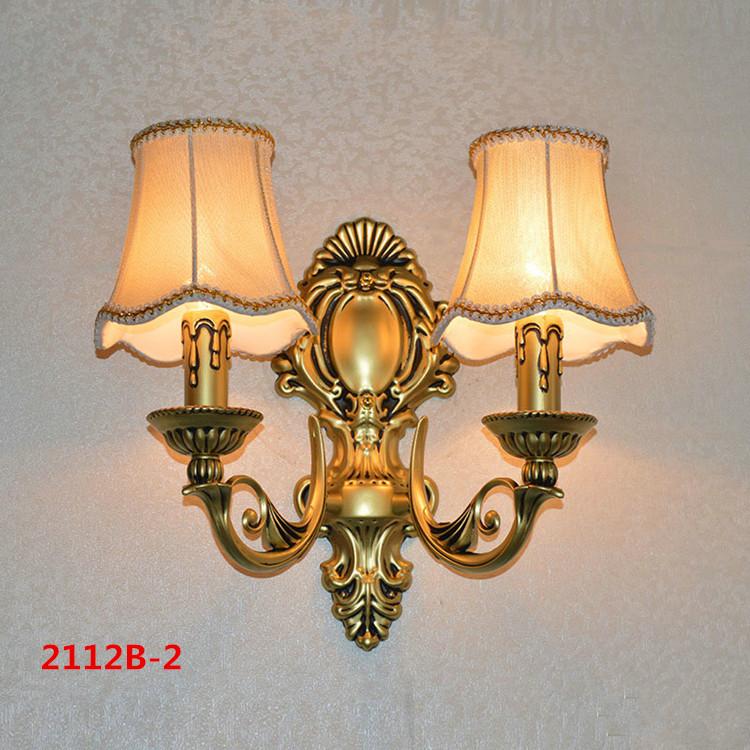 Đèn ốp tường pha lê phong cách Châu Âu sang trọng đầy ấn tượng 2112B-2