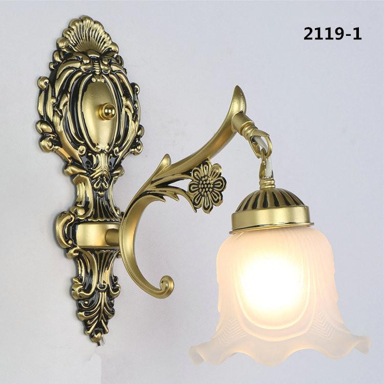Đèn ốp tường pha lê phong cách Châu Âu sang trọng đầy ấn tượng 2119-1