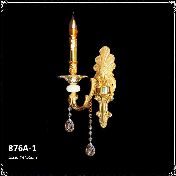 Đèn ốp tường pha lê phong cách Châu Âu sang trọng đầy ấn tượng 876A-1