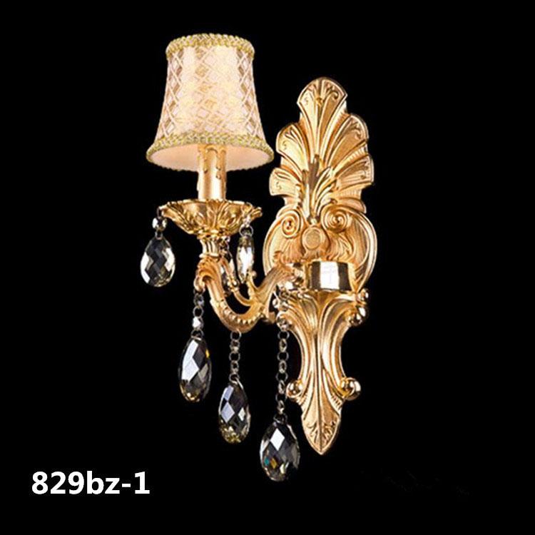 Đèn ốp tường pha lê phong cách Châu Âu sang trọng đầy ấn tượng 829BZ-1