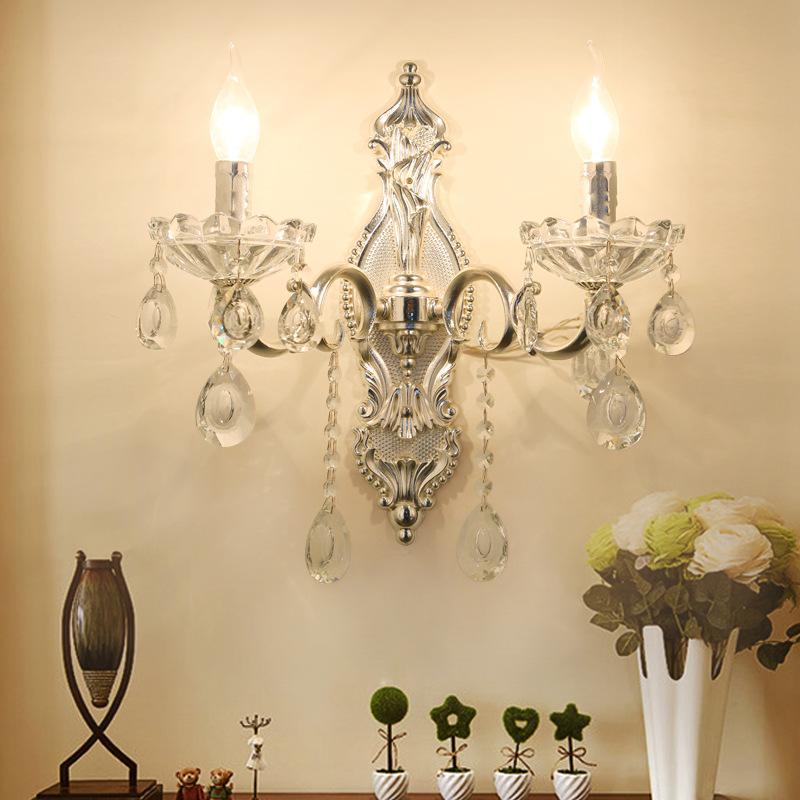 Đèn ốp tường pha lê phong cách Châu Âu sang trọng đầy ấn tượng LA 8310 -3 - 2T