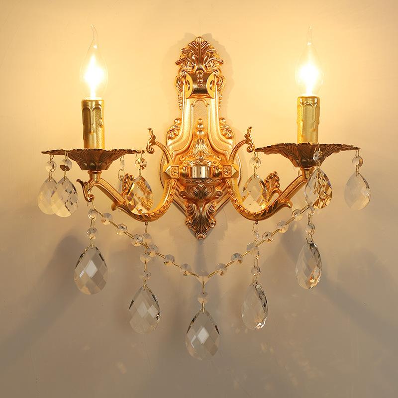 Đèn ốp tường pha lê phong cách Châu Âu sang trọng đầy ấn tượng LA 838 -3 - 2T