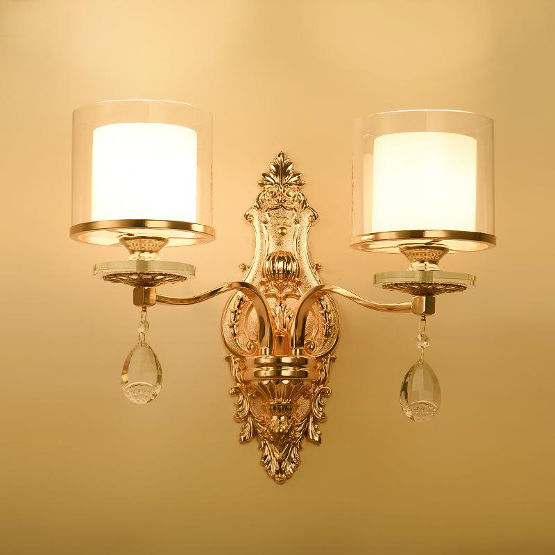Đèn ốp tường tân cổ điển phong cách Châu Âu sang trọng đầy ấn tượng LA8224 - 2 - 2T