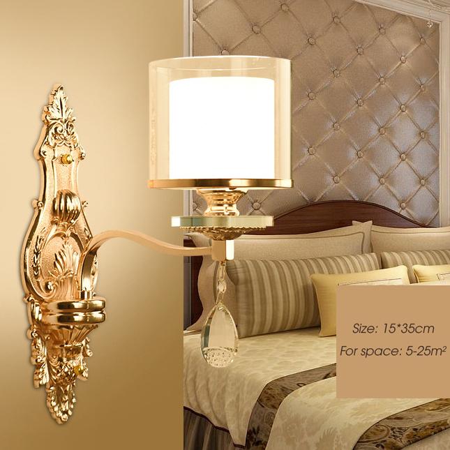 Đèn ốp tường tân cổ điển phong cách Châu Âu sang trọng đầy ấn tượng LA8224 - 2 - 1T