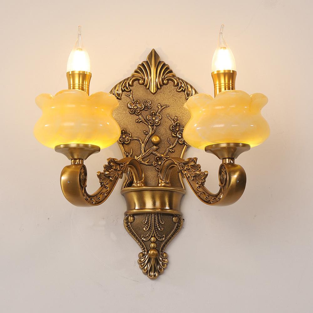 Đèn ốp tường tân cổ điển phong cách Châu Âu sang trọng đầy ấn tượng LA 8313 - 3 - 2T