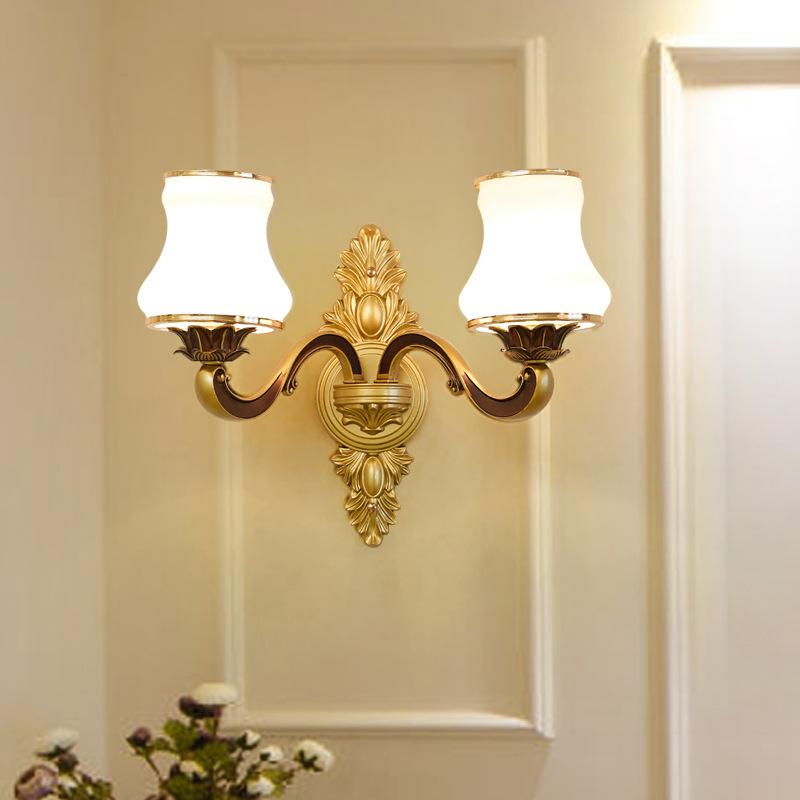 Đèn ốp tường tân cổ điển phong cách Châu Âu sang trọng đầy ấn tượng LA 8514 -5 -2T