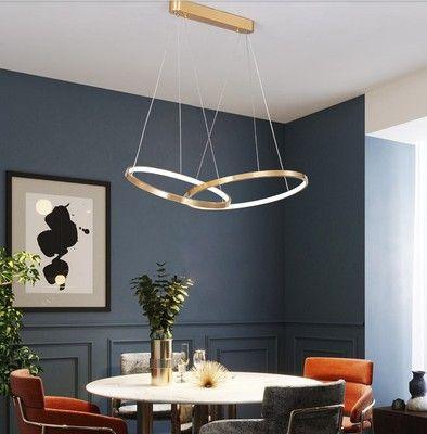 Đèn thả trần phòng khách phong cách sang trọng đầy ấn tượng 1635 mẫu 2 bóng