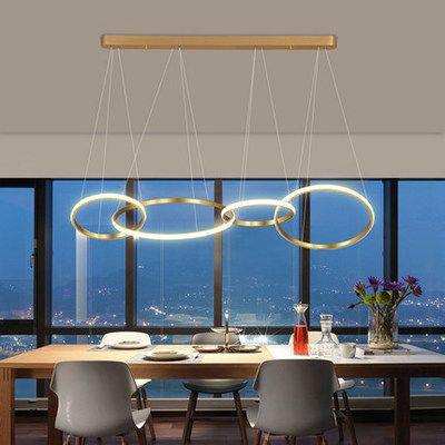 Đèn thả trần phòng khách phong cách sang trọng đầy ấn tượng 1635 mẫu 4 bóng