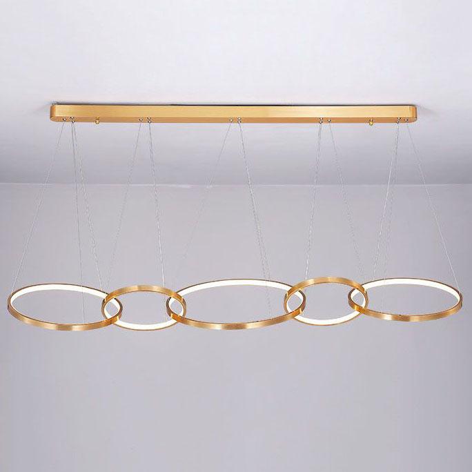 Đèn thả trần phòng khách phong cách sang trọng đầy ấn tượng 1635 mẫu 5 bóng