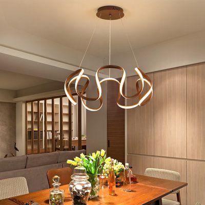 Đèn thả trần phòng khách phong cách sang trọng đầy ấn tượng làm mờ ánh sáng + điều khiển từ xa 2225 size 60cm màu vàng