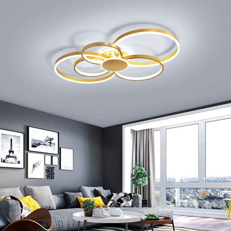Đèn trân sang trọng thiết kế hiện đại đầy ấn tượng WDS0059 size 85cm ánh sáng trắng
