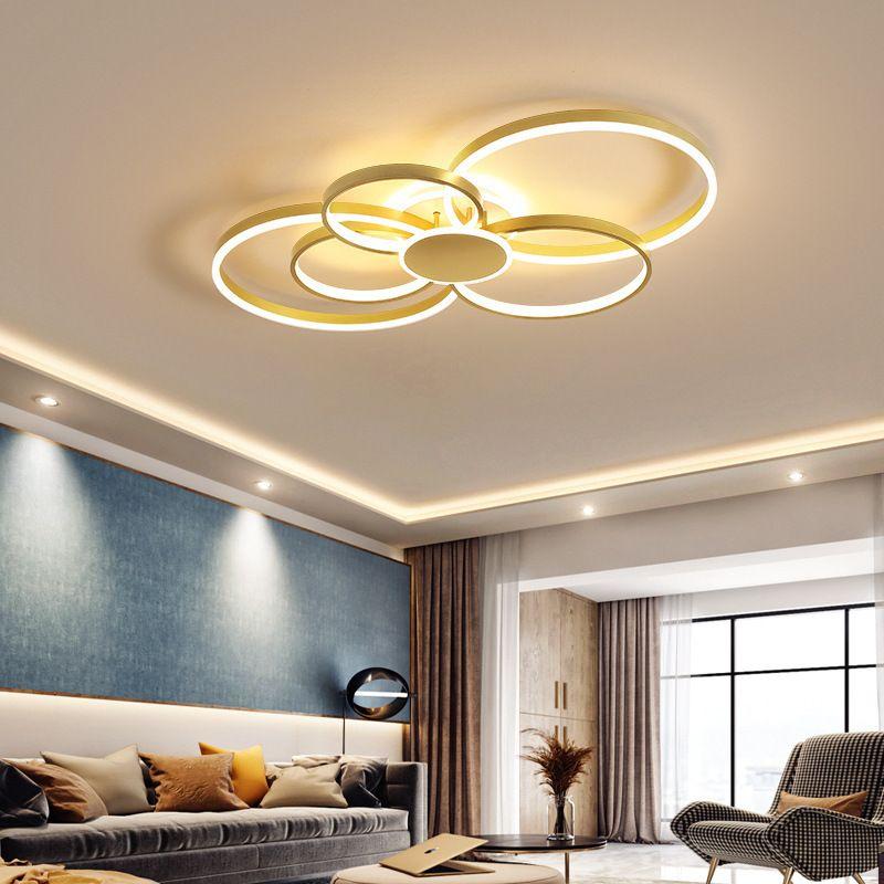 Đèn trân sang trọng thiết kế hiện đại đầy ấn tượng WDS0059 size 105cm ánh sáng vàng