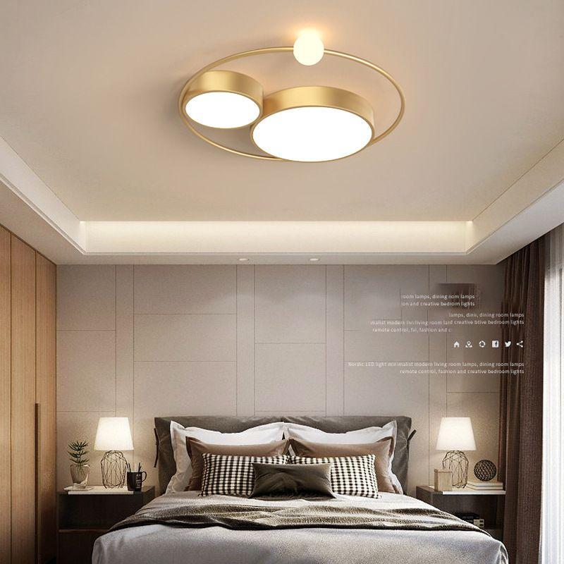 Đèn trần thiết kế độc đáo lạ mắt cho không gian thêm ấn tượng XH-H6837 màu vàng size 45cm
