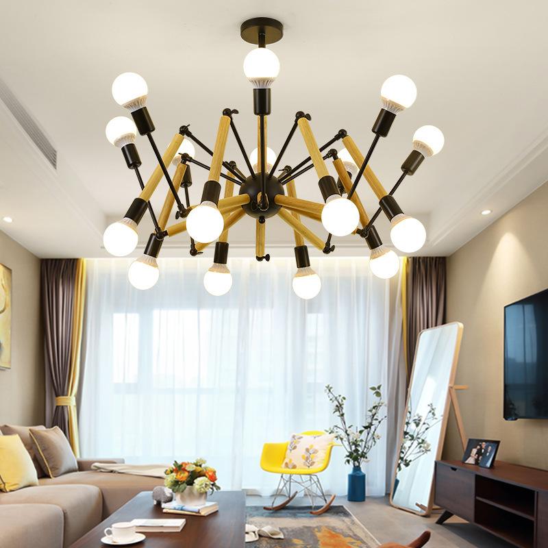 Đèn trang trí phong cách Bắc Âu sáng tạo đầy cá tính cho không gian nhà hiện đại 2242-16 màu đen