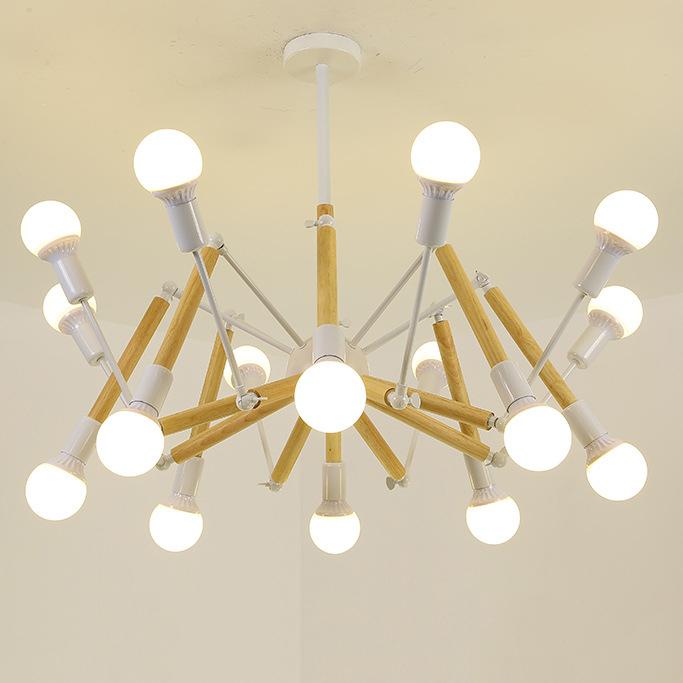 Đèn trang trí phong cách Bắc Âu sáng tạo đầy cá tính cho không gian nhà hiện đại 2242-16 màu trắng