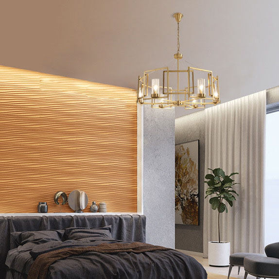 Đèn trang trí phong cách Bắc Âu sáng tạo đầy cá tính cho không gian nhà hiện đại HOU007-85