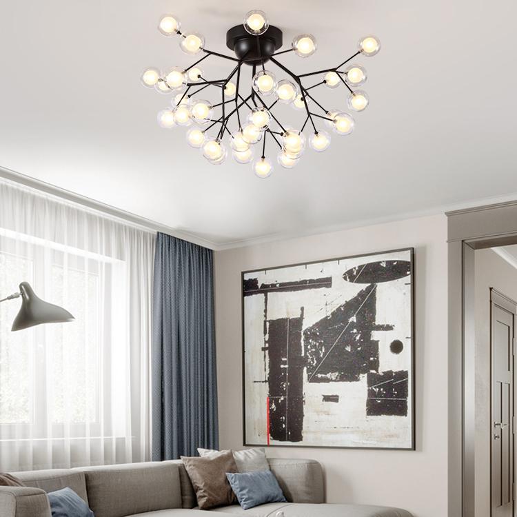 Đèn trang trí phong cách Bắc Âu sáng tạo đầy cá tính cho không gian nhà hiện đại KRS192-36BL