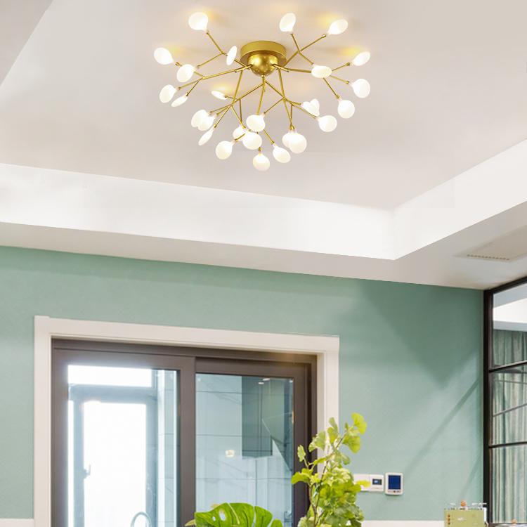 Đèn trang trí phong cách Bắc Âu sáng tạo đầy cá tính cho không gian nhà hiện đại KRS192-27GO