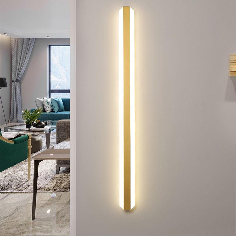 Đèn tường LED dài siêu mỏng phong cách Bắc Âu ấn tượng XH-BC7037 size 100cm