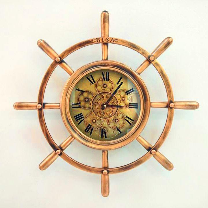 Đồng hồ treo tường bánh lái thiết kế ấn tượng GTCM16222