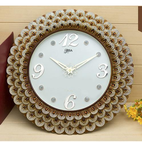 Đồng hồ treo tường phong cách châu âu vô cùng hiện đại BS3685