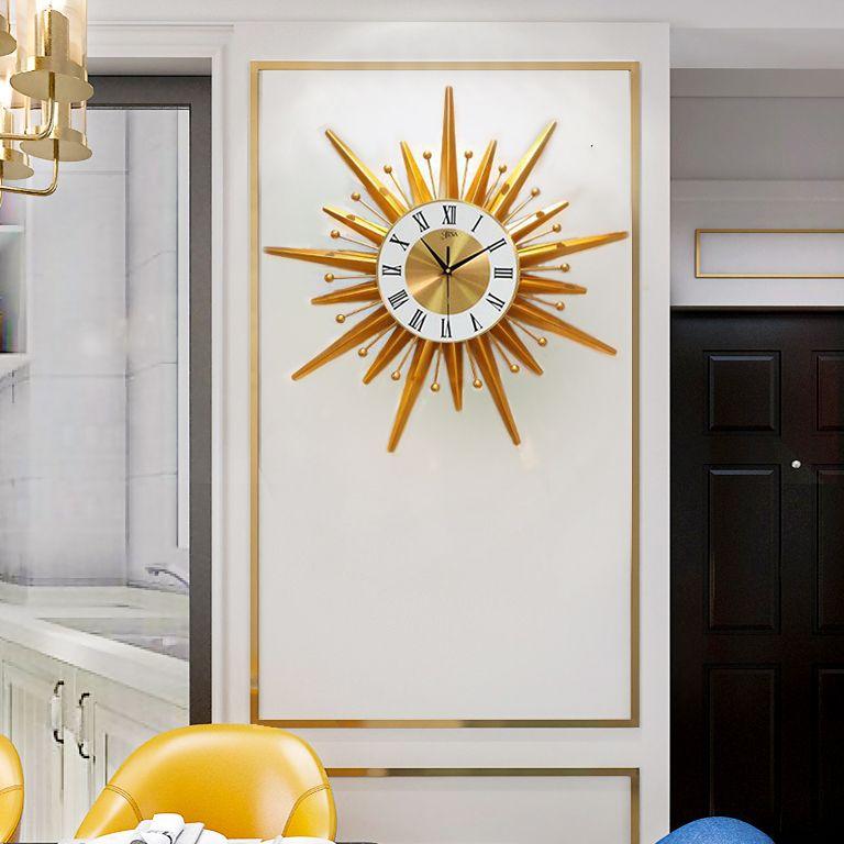 Đồng hồ treo tường thiết kế sang trọng hiện đại cho không gian thêm ấn tượng LM202013TV
